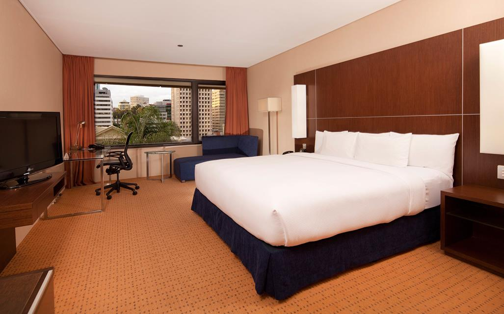 Hilton Brisbane King Guest Room this Magnificent Life