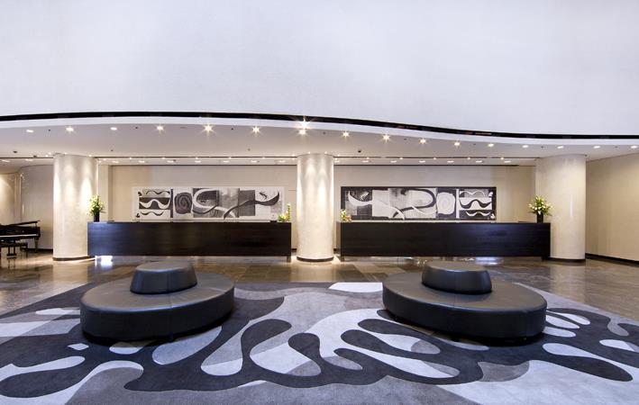 Hilton Brisbane Lobby ThisMagnificentLife