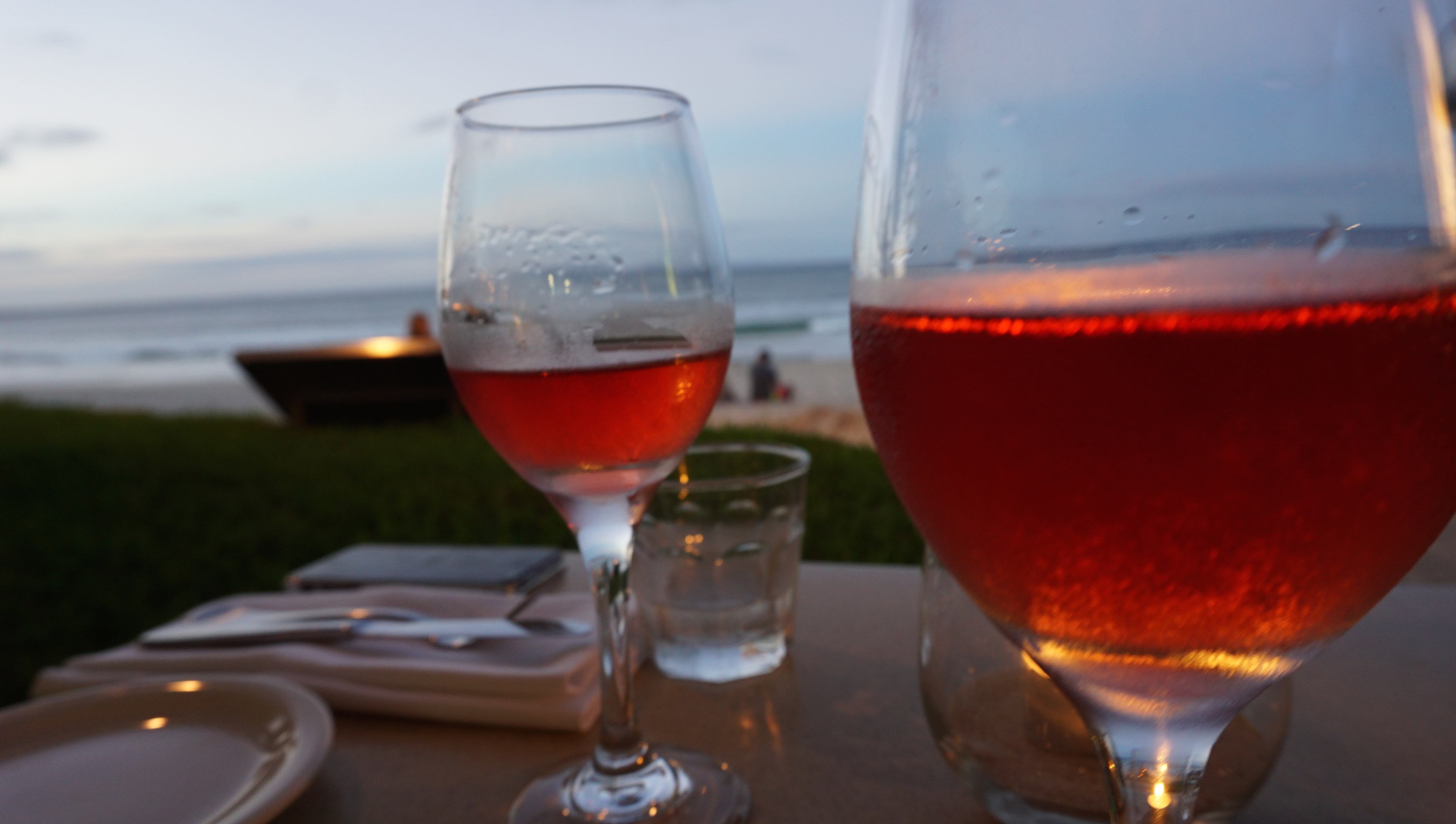 berardos bistro on the beach front of house
