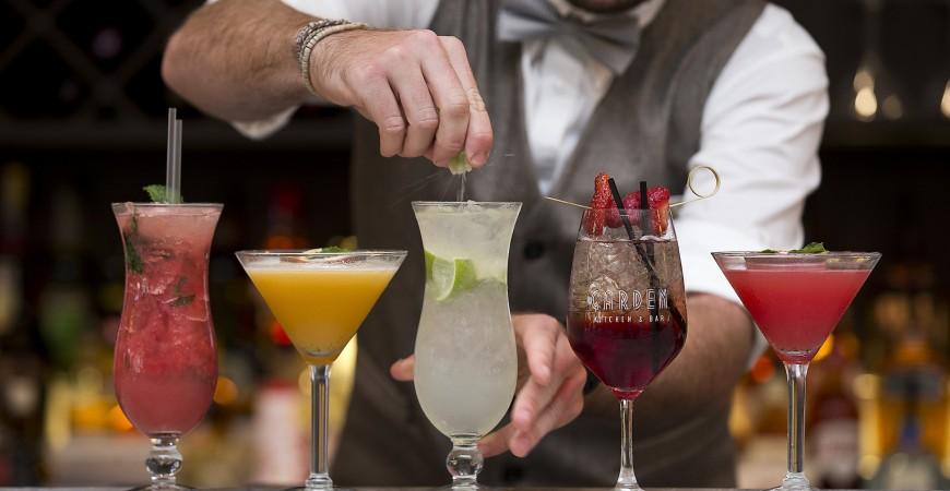 Garden Kitchen & Bar – signature cocktails