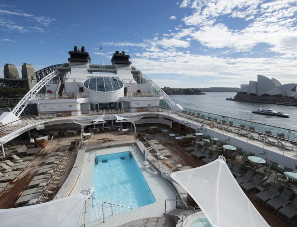 Seabourn Encore in Sydney. Credit James Morgan (2)