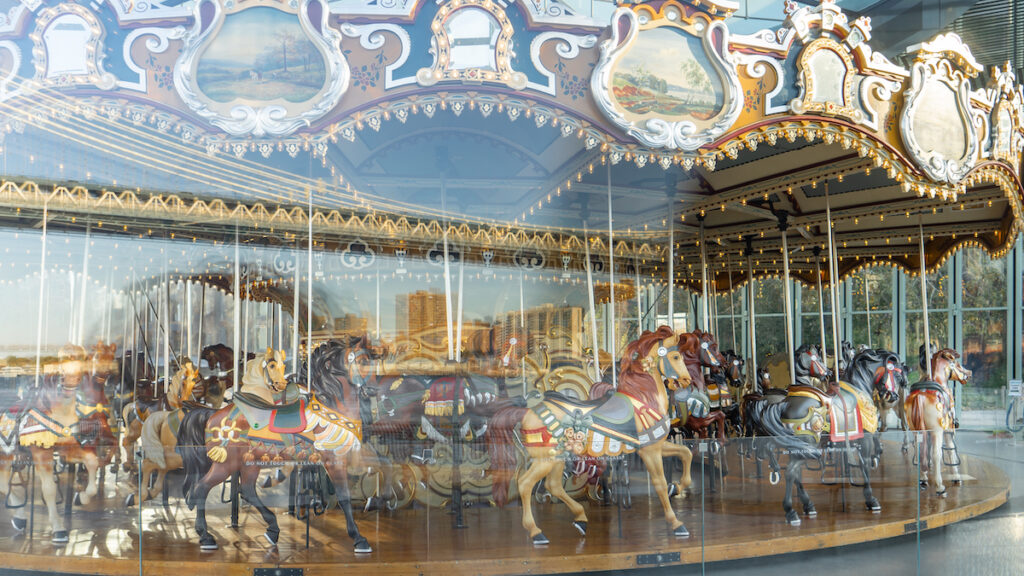 Jane's Carousel this Magnificent Life